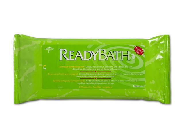Medline MSC095103 ReadyBath Premium Wipes,0 Case Of 24 PK