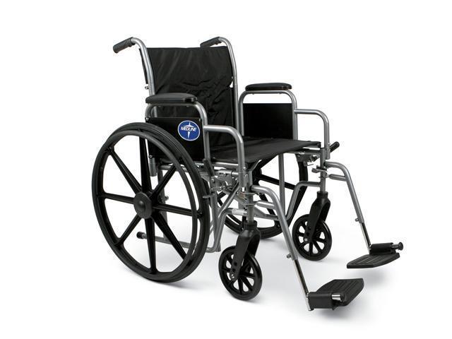 Medline MDS806250EE K1 Basic Wheelchairs Case Of 1 EA