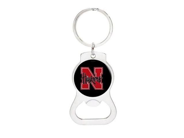 University of Nebraska Bottle Opener Keychain