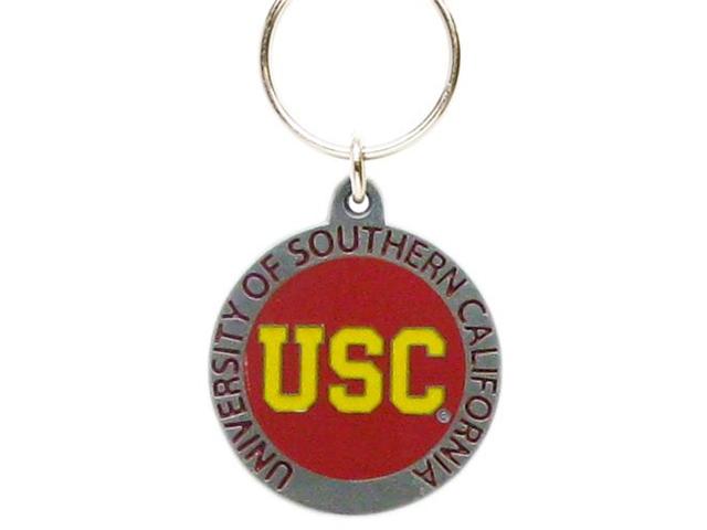 USC Pewter Keychain NCAA