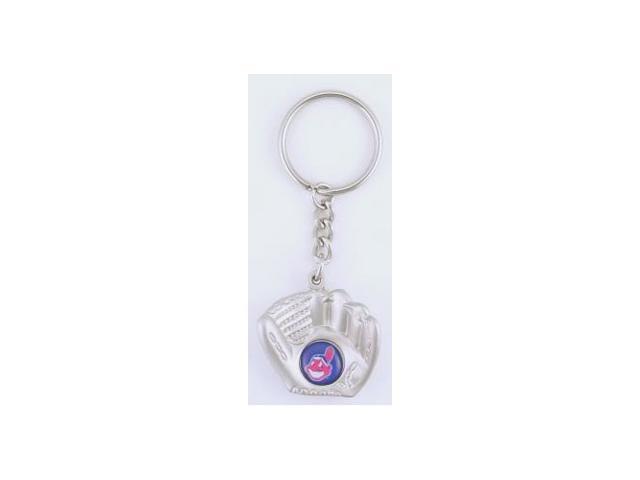 Cleveland Indians Glove Keychain