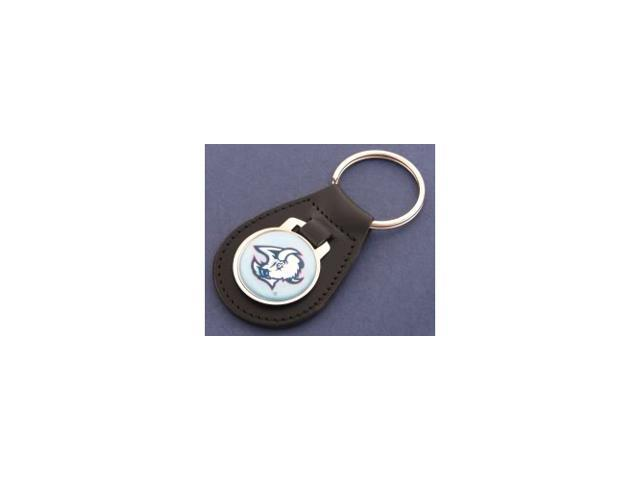 Buffalo Sabres Light Blue Leather Keychain