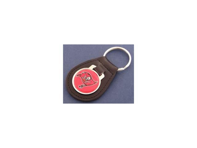 Tampa Bay Buccaneers Leather Key Chain