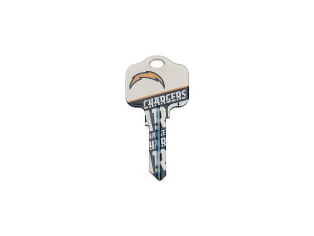 San Diego Chargers Kwikset KW1 House Key