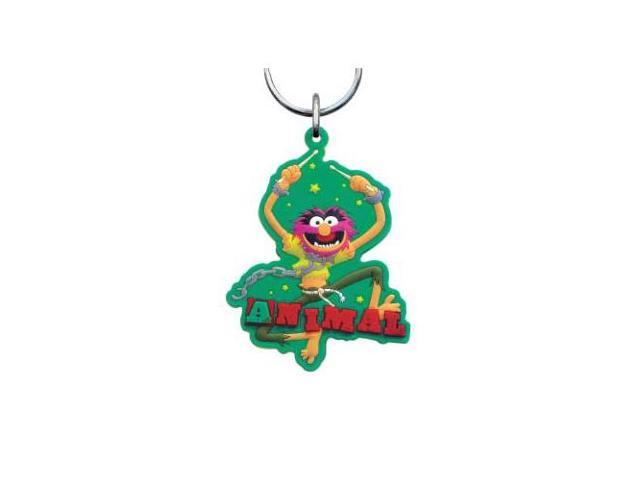 Animal Muppets Laser Cut Rubber Keychain