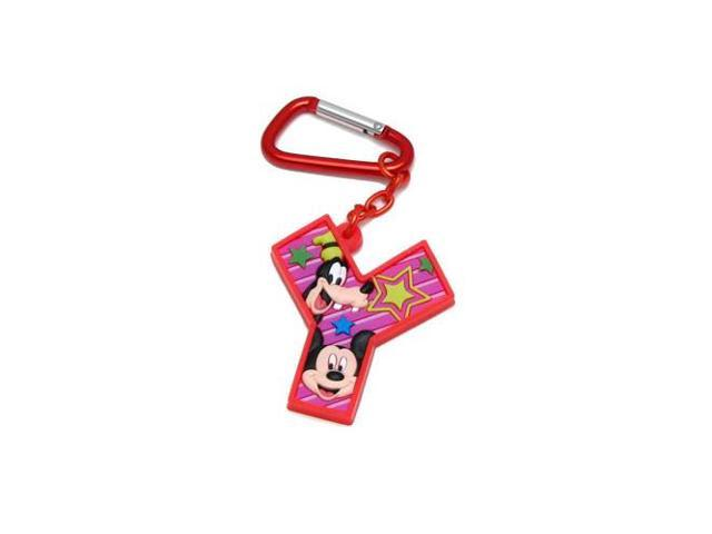 Mickey and Friends Letter Y Laser Cut Keychain