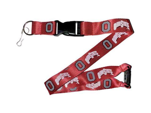 Ohio State Buckeyes Lanyard Keychain Id Holder Ticket