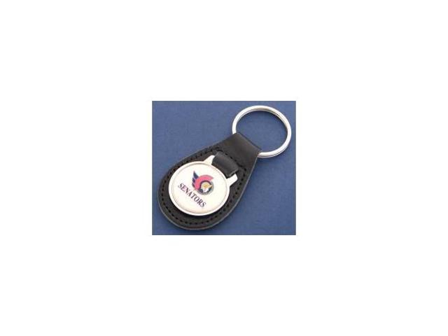 Ottawa Senators Leather Keychain