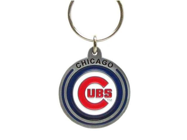 Siskiyou Gifts SBK045Z MLB Zinc Key Ring- Cubs