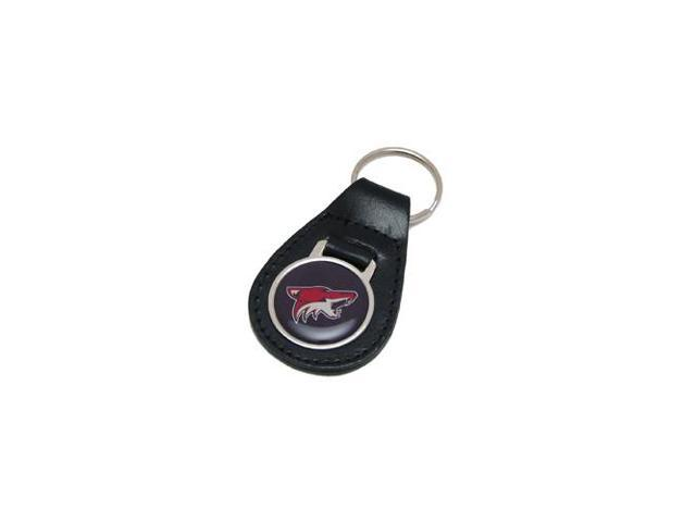 Phoenix Coyotes Leather Key Chain