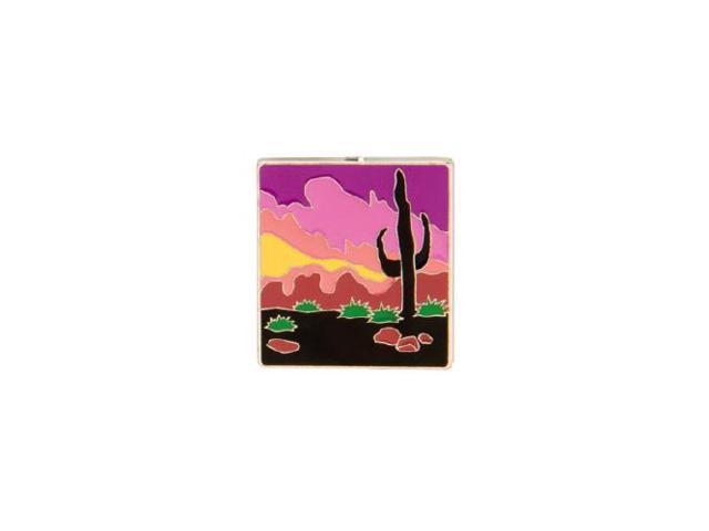 Finders Key Purse Cactus Sunset Keychain