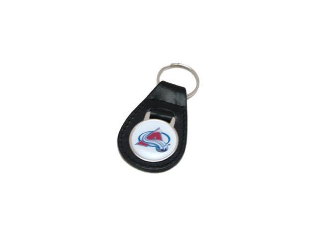 Colorado Avalanche Leather Keychain