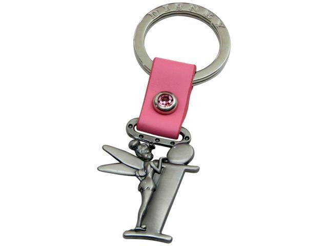 Tinker Bell Letter I Pewter Key Chain
