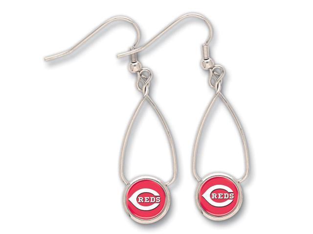 Cincinnati Reds French Loop Earrings