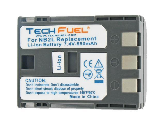 TechFuel Li-ion Rechargeable Battery for Canon Elura 90 Camcorder
