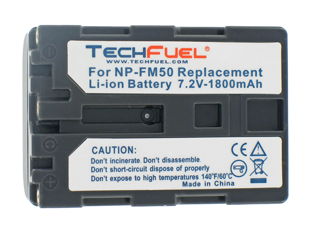 TechFuel Li-ion Rechargeable Battery for Sony DCR-TRV19 Camcorder