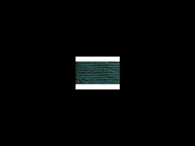 DMC Pearl Cotton Skeins Size 5 - 27.3 Yards-Very Dark Grey Green