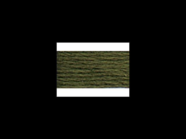 DMC Pearl Cotton Skeins Size 3 - 16.4 Yards-Very Dark Avocado Green