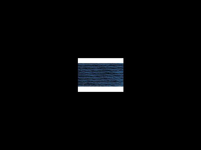 DMC Pearl Cotton Skeins Size 5 - 27.3 Yards-Medium Navy Blue