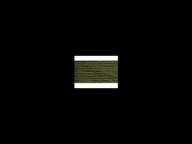 DMC Pearl Cotton Skeins Size 5 - 27.3 Yards-Very Dark Avocado Green