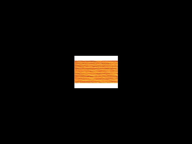 DMC Pearl Cotton Skeins Size 5 - 27.3 Yards-Medium Tangerine