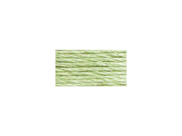 DMC Pearl Cotton Skeins Size 3 - 16.4 Yards-Very Light Pistachio Green