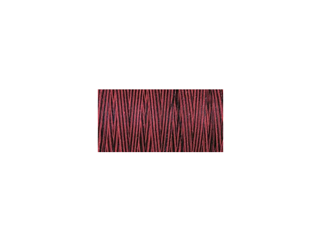Natural Cotton Thread Variegated 876 Yards-Berry Berry