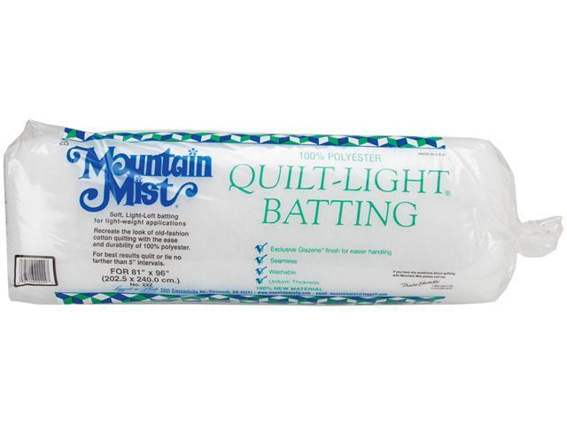 Quilt-Light Polyester Batting-Full Size 81
