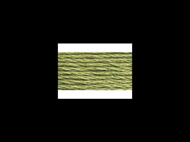 DMC Pearl Cotton Skeins Size 3 - 16.4 Yards-Medium Green Grey