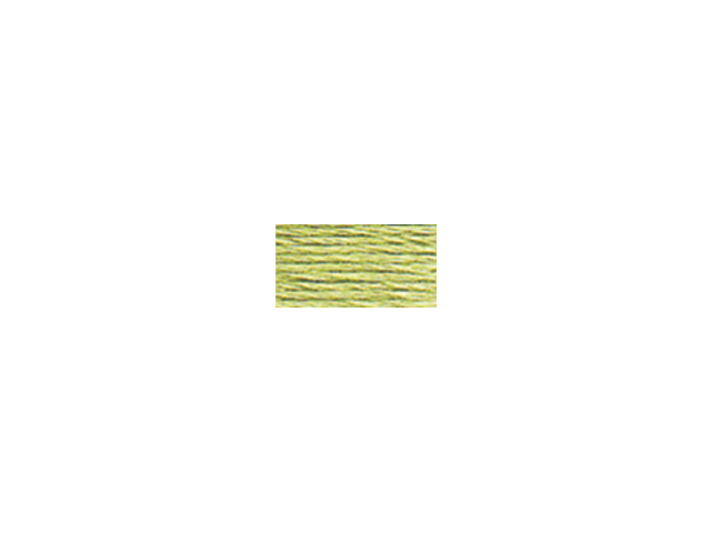 DMC Pearl Cotton Skeins Size 5 - 27.3 Yards-Light Yellow Green