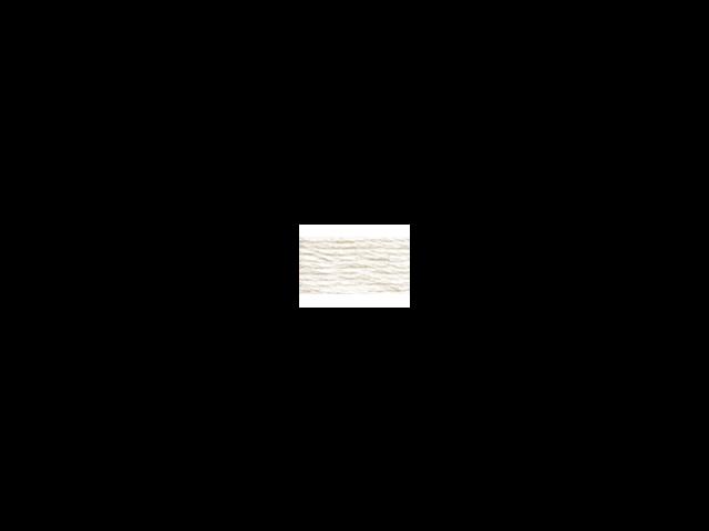DMC Pearl Cotton Skeins Size 3 - 16.4 Yards-White
