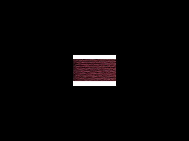 DMC Pearl Cotton Skeins Size 5 - 27.3 Yards-Very Dark Garnet