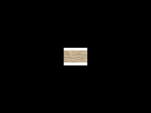 DMC Pearl Cotton Skeins Size 3 - 16.4 Yards-Medium Beige Gray
