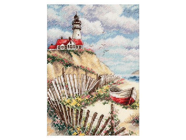 Gold Collection Petite Cliffside Beacon Counted Cross Stitch-5