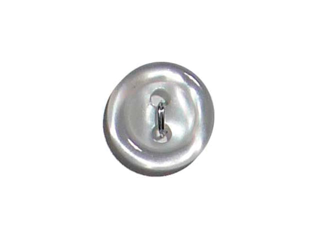 Slimline Buttons Series 1-White 2-Hole 1/2