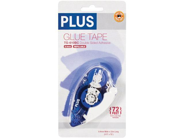 Plus Permanent Glue Tape Dispenser-8.4mmx20m
