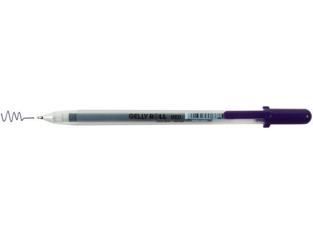 Gelly Roll Medium Point Pen Open Stock .4mm Line/.8mm Ball-Purple
