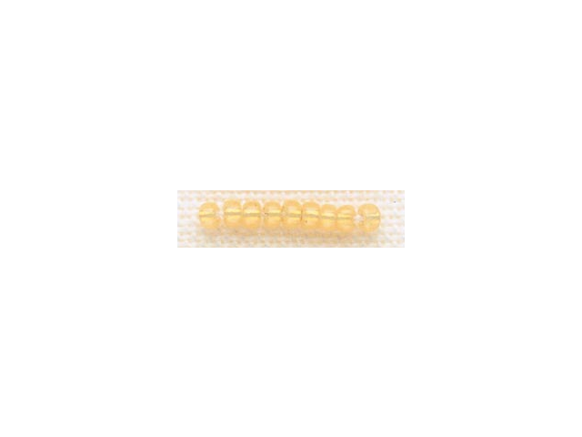 Mill Hill Glass Beads Size 8/0 3mm 6.0 Grams/Pkg-Golden Opal