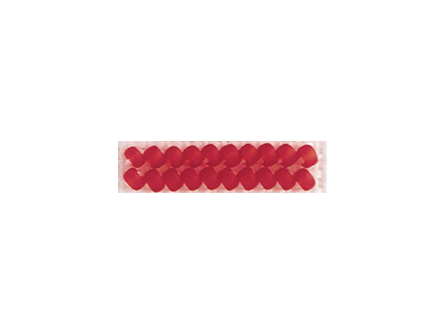Mill Hill Frosted Glass Seed Beads 4.25 Grams/Pkg-Cranberry