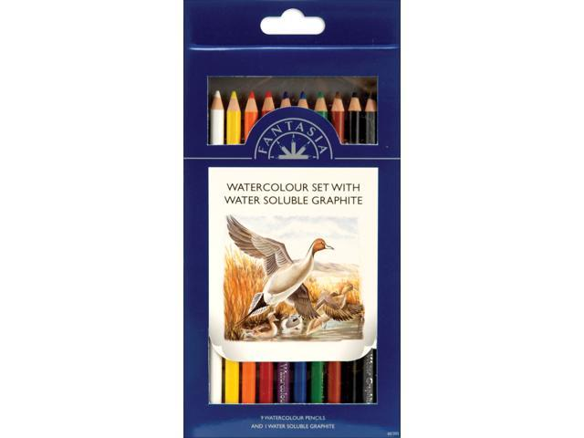 Pro Art Fantasia Pencils 10/Pkg-Watercolor