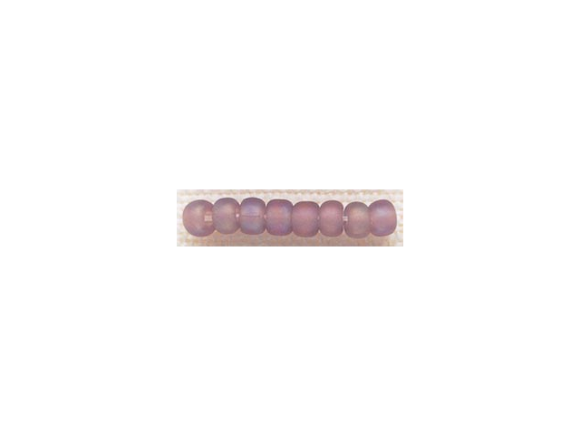 Mill Hill Glass Beads Size 6/0 4mm 5.2 Grams/Pkg-Frosted Lilac