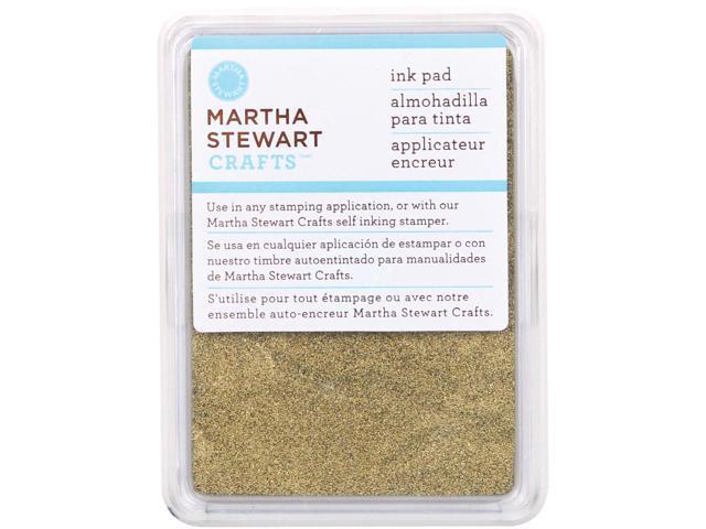 Martha Stewart Ink Pad-Gold