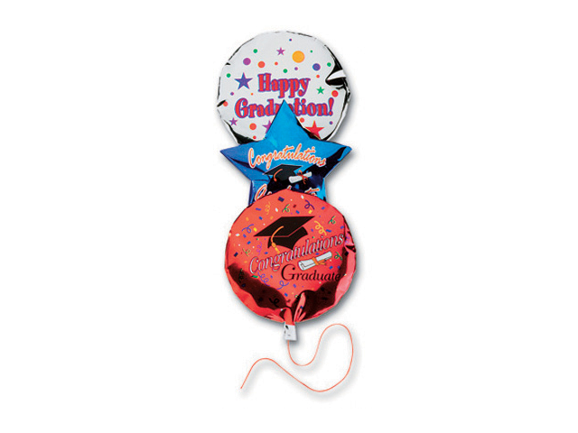 Jolee's By You Dimensional Embellishment-Graduation Balloons