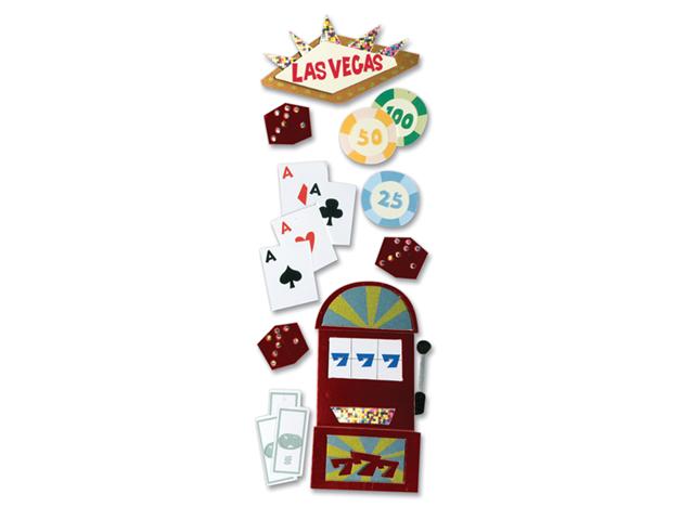 Touch Of Jolee's Dimensional Sticker-Las Vegas