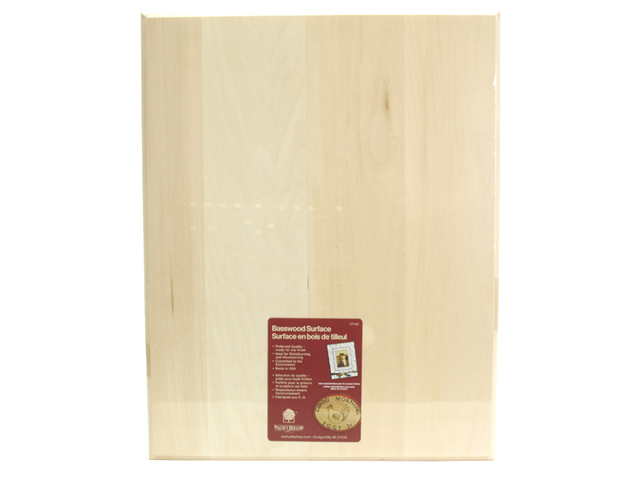 Basswood Rectangle Plaque-11