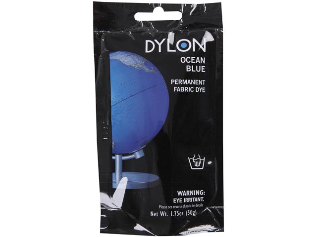 Dylon Permanent Fabric Dye 1.75 Ounce-Ocean Blue