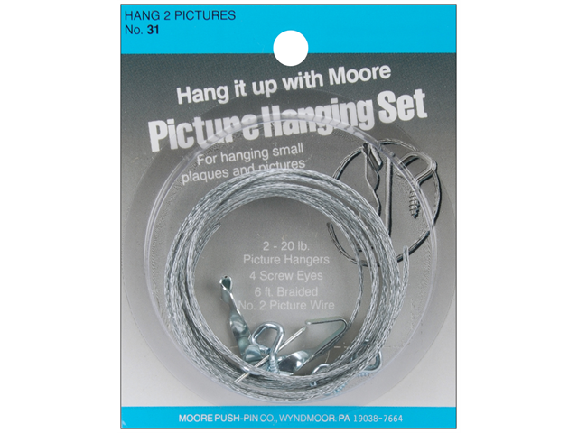 Picture Hanging Kit-