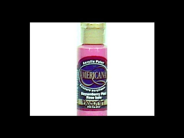 Americana Acrylic Paint 2 Ounces-Petal Pink/Opaque