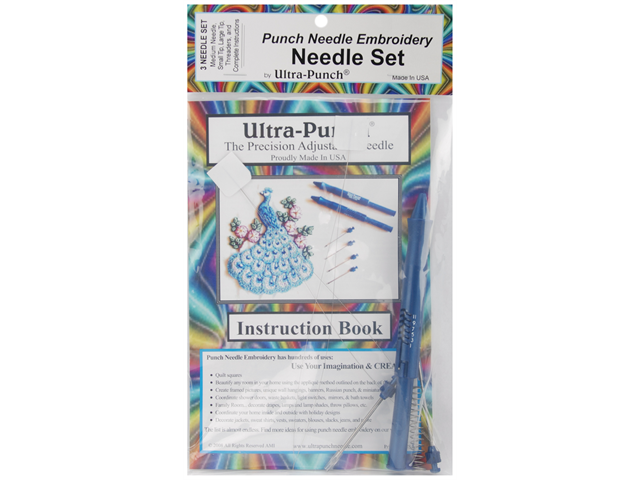 Ultra Punch Needle Set-Small, Medium, Large