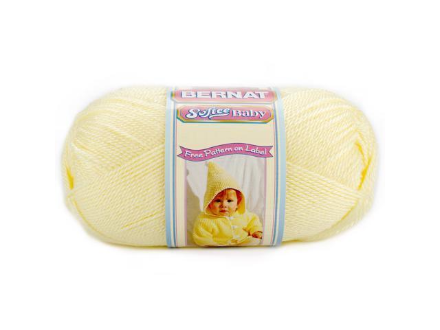 Softee Baby Solid Yarn-Lemon